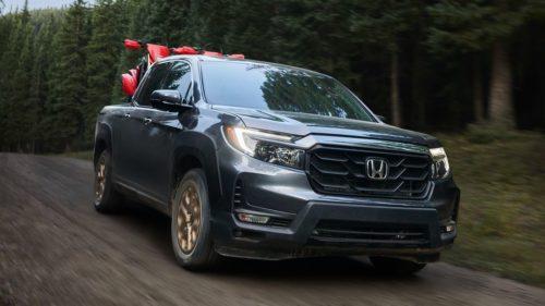 2021 Honda Ridgeline Gets $350 Price Hike, Drops Front-Wheel Drive