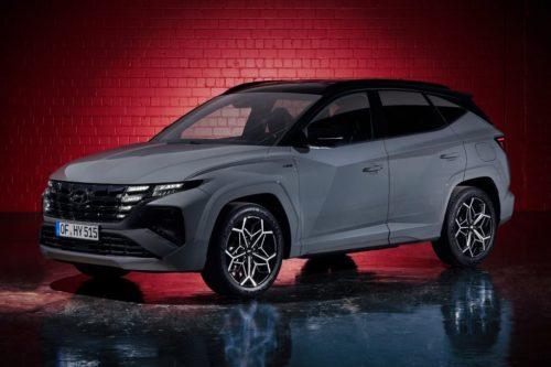 Hyundai Tucson N Line unveiled
