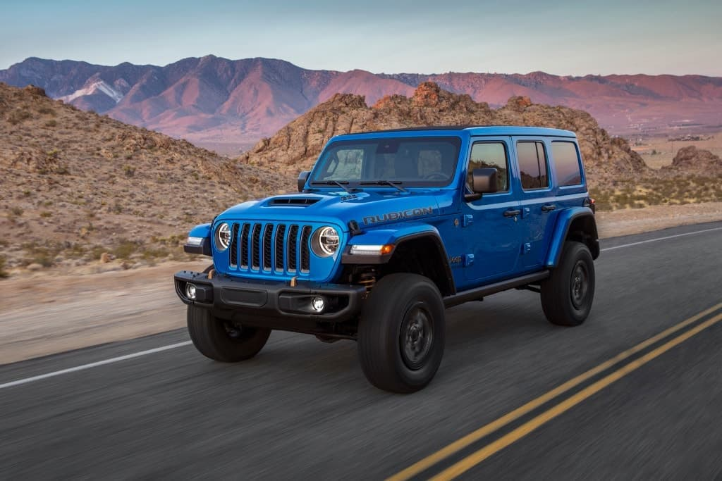 Jeep Wrangler V8 not coming here