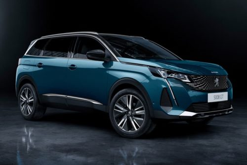 Upgraded Peugeot 3008 and 5008 imminent