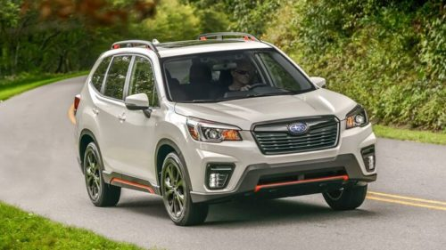 2022 Subaru Forester Facelift Rendered To Strip Off The Camouflage