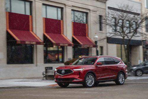 2022 Acura MDX SH-AWD: A Driver's Family Hauler