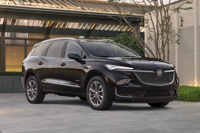 2022 Buick Enclave Will Get a Styling Update
