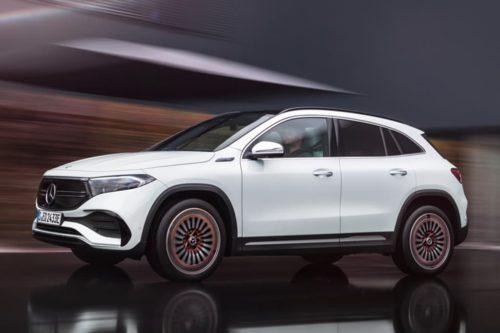 Mercedes-Benz EQA revealed