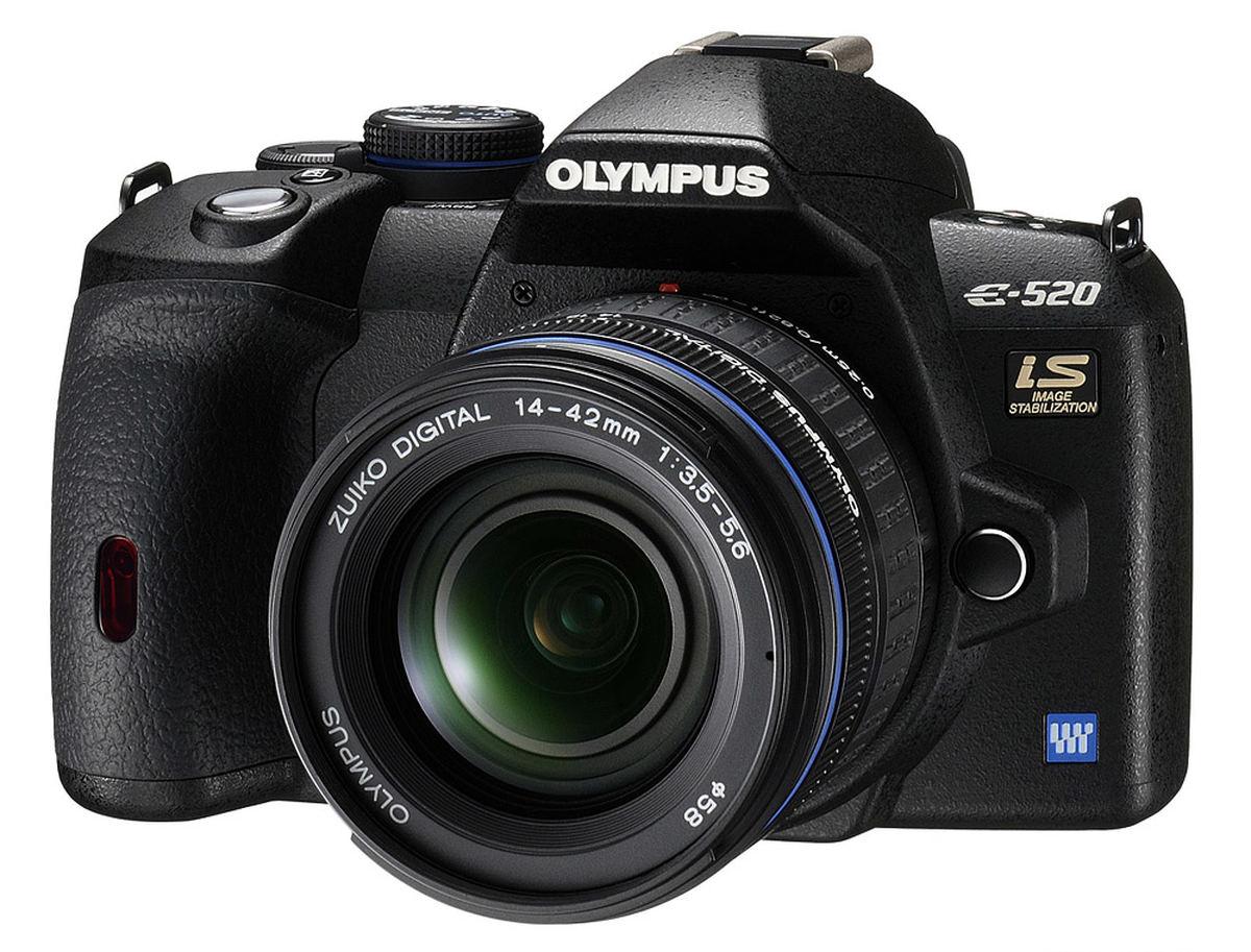 Olympus E-520 Camera