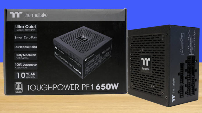 Thermaltake Toughpower PF1 650W Power Supply Review
