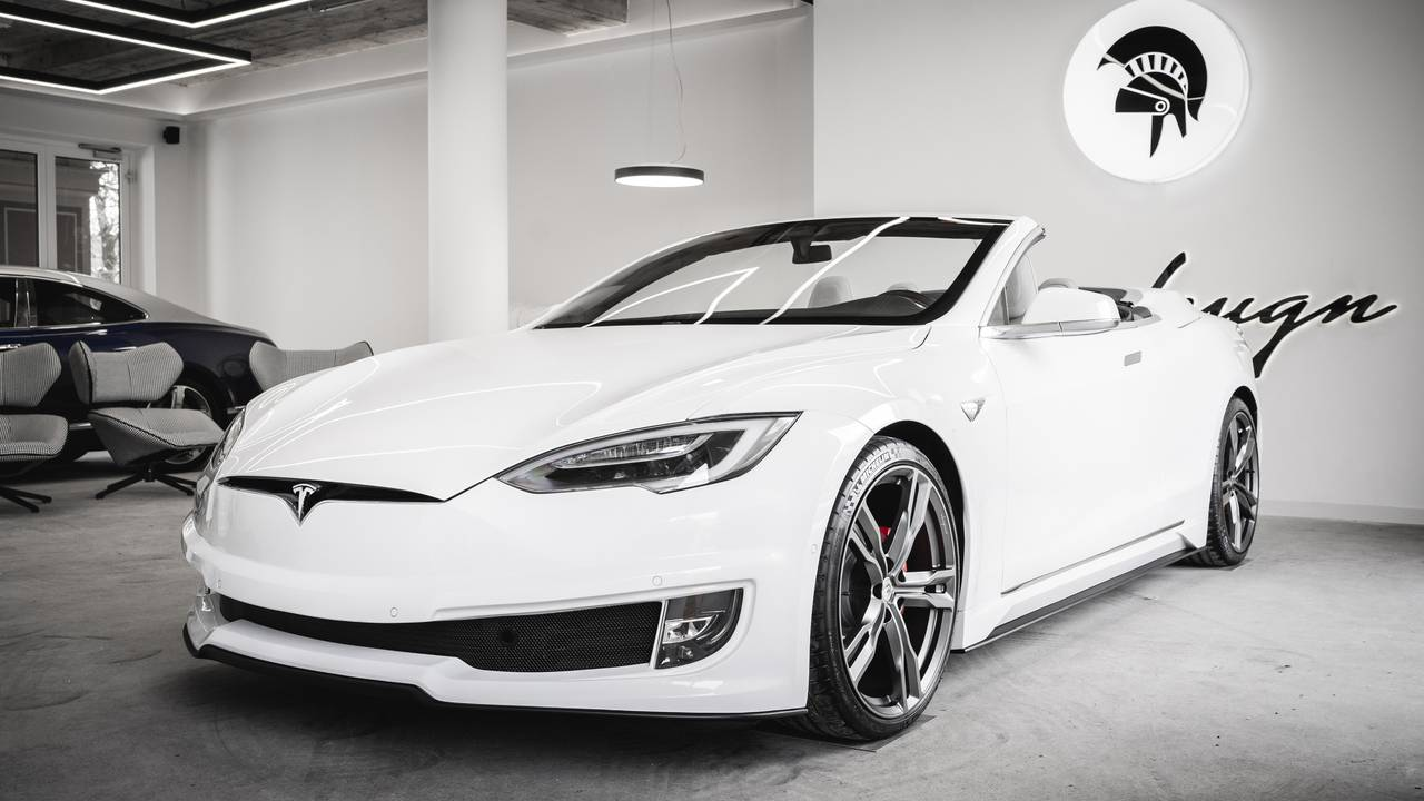 Tesla Model S Convertible by Ares Design: Elon Musk will be proud