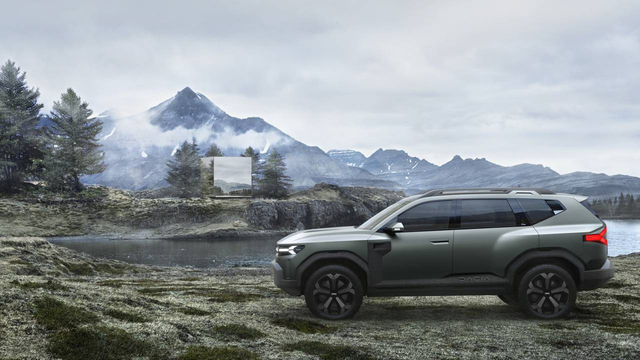 Dacia Bigster Concept is a bigger and more stylish Duster SUV