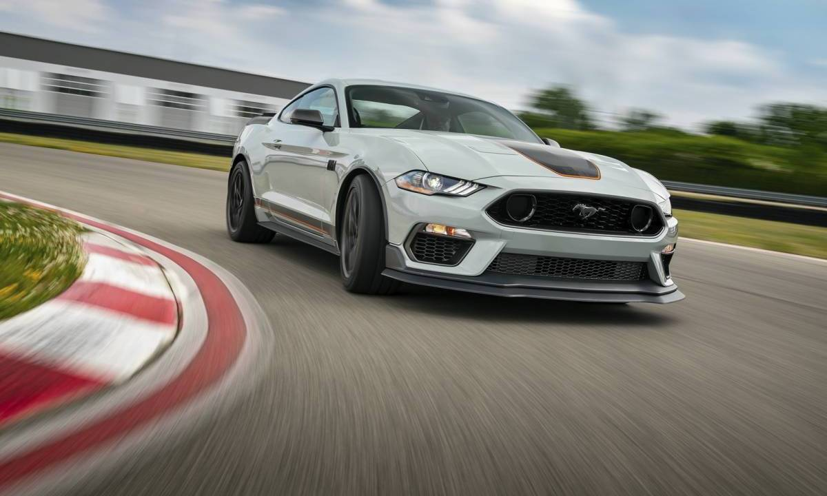 The 2021 Ford Mustang Mach 1 is riding on some awesome wheels