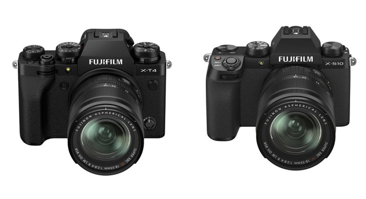 Fujifilm X-T4 vs Fujifilm X-S10 Comparison Reviews