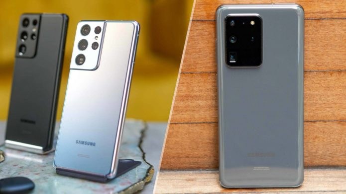 Samsung Galaxy S21 Ultra vs. Galaxy S20 Ultra
