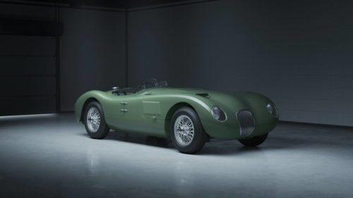 Jaguar C-Type Continuation model celebrates 70 years of racing glory