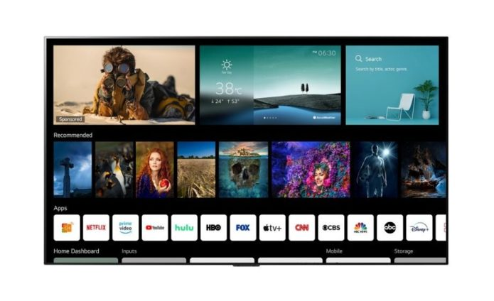 LG refreshes its webOS smart platform for its 2021 TV line-up
