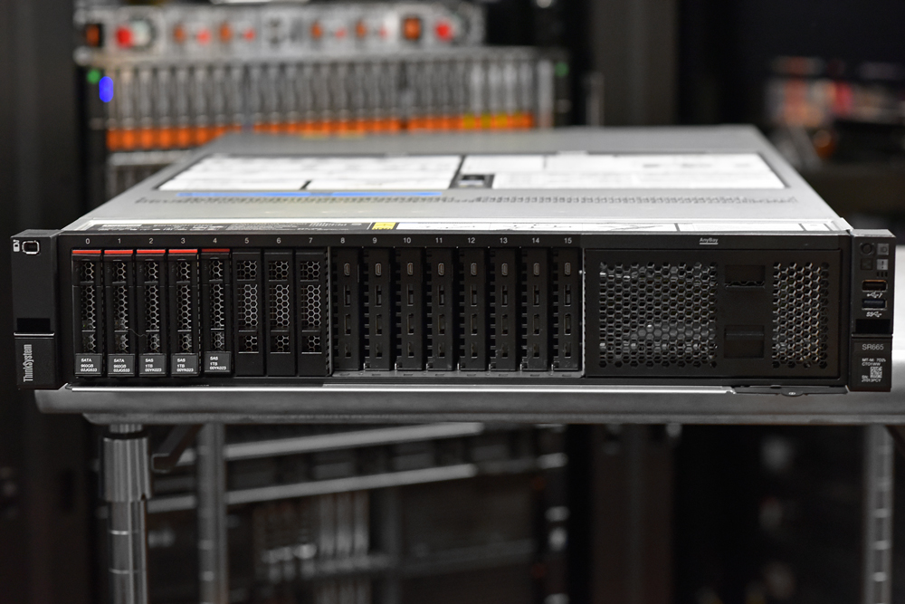 Lenovo ThinkSystem SR665 Server Review