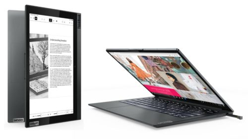 Lenovo ThinkBook Plus Gen 2 i bakes a bigger, better e-ink touchscreen into the lid