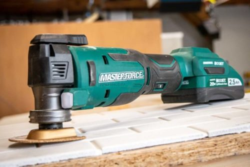Masterforce Boost Brushless Oscillating Multi-Tool Review