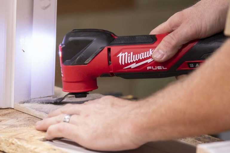 Milwaukee M18 Fuel Oscillating Multi-Tool Review 2836