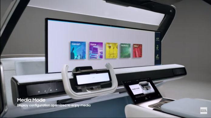 Samsung Digital Cockpit 2021: The future is near