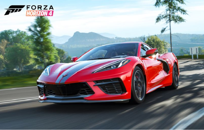 Chevy's Mid-Engine Corvette Coming to Forza Horizon 4