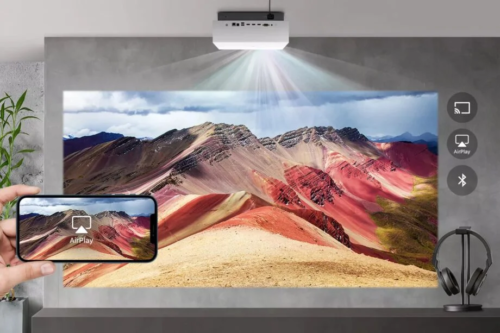 LG's latest 4K laser projector brings the cinema to you, with light detecting tech