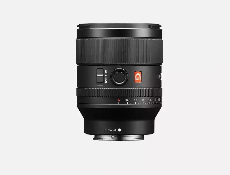 Sony Announces FE 35mm F1.4 GM Lens (model SEL35F14GM)