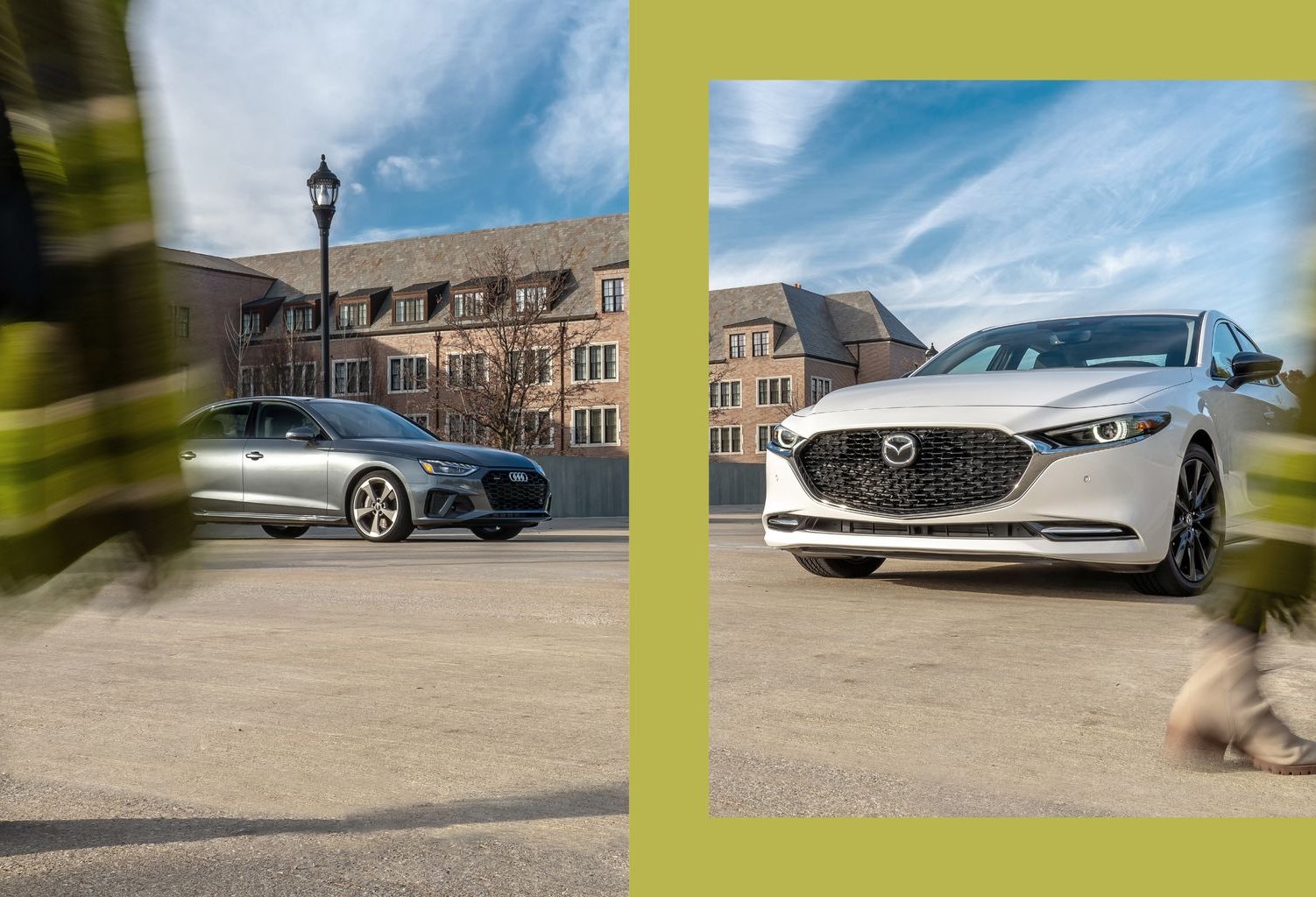 Tested: 2021 Mazda 3 2.5 Turbo vs. Audi A4 45