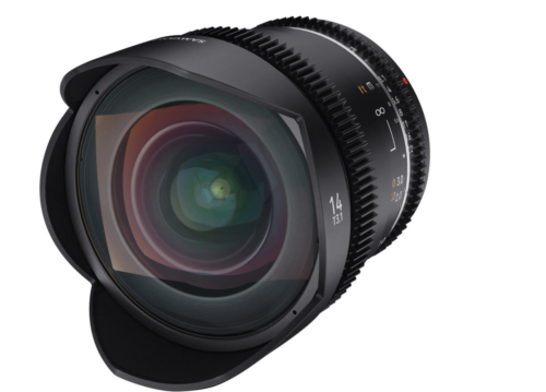 Samyang 14mm T3.1 MK2 VDSLR Cine Lens Announced