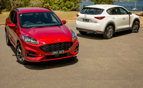 Family SUV review: 2021 Ford Escape v Mazda CX-5 comparison