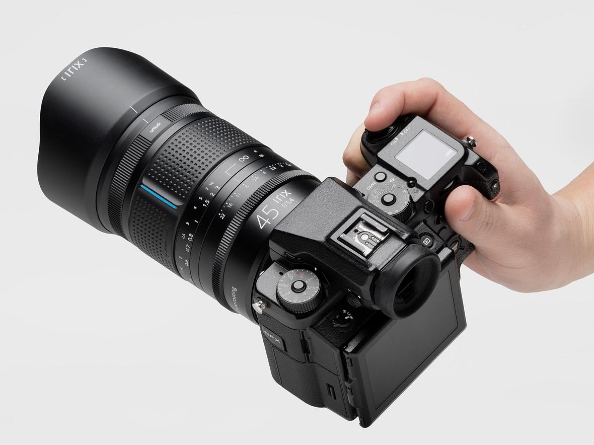 Irix announces $795 45mm F1.4 Dragonfly lens for Fujifilm GFX medium format cameras
