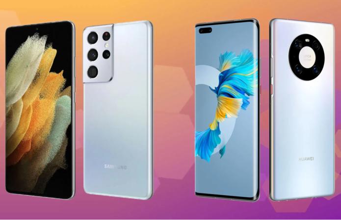 Premium Flagship Comparo: Samsung Galaxy S21 Ultra 5G vs Huawei Mate 40 Pro 5G