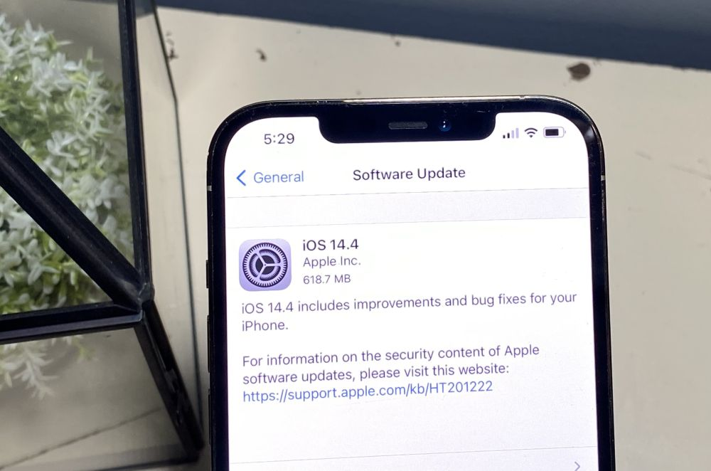 iPhone security alert: Update to iOS 14.4 right now