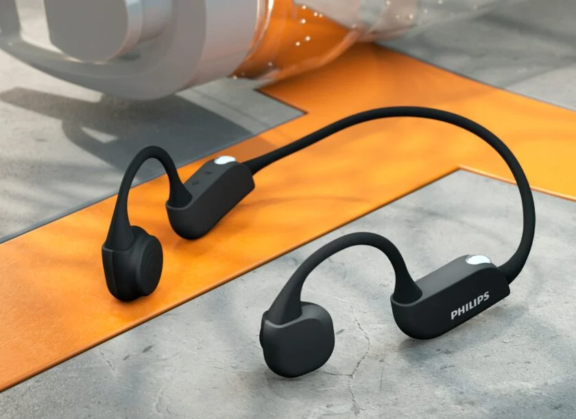Philips' unveils sports headphones with heart monitoring and bone conduction tech