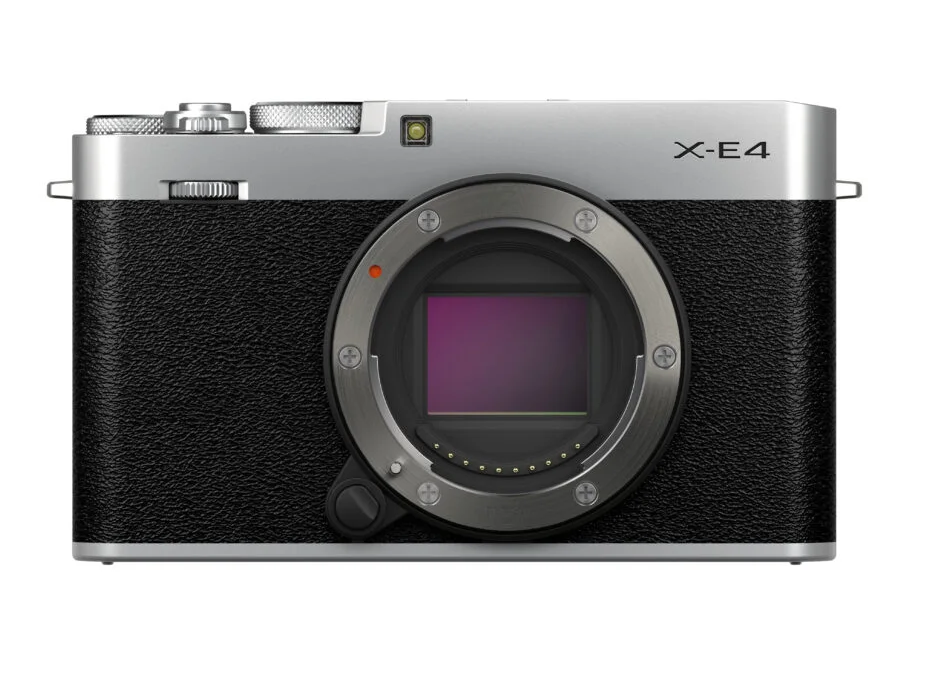 The X-E4 is the most portable mirrorless camera in Fujifilm's X Series