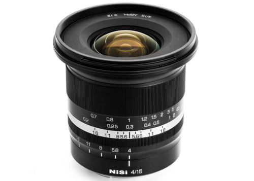NiSi 15mm f/4 Manual Focus Lens for Full-frame Mirrorless