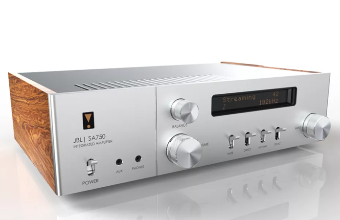 JBL SA750 is a modern-retro Class G amplifier with streaming