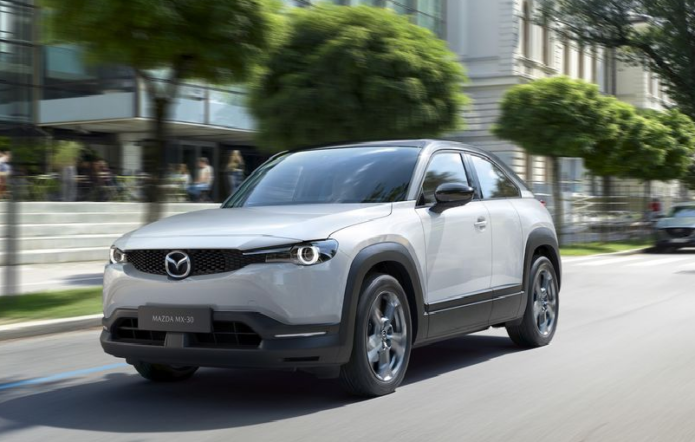 Mazda's Funky, RX-8-Inspired Electric SUV Is Coming to America After All
