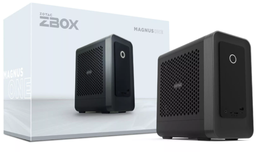 ZOTAC ZBOX MAGNUS ONE mini-PC launched with an Intel Core i7-10700 and an NVIDIA GeForce RTX 3070