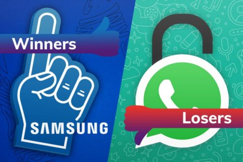 Winners and Losers: Samsung fans get an early surprise while WhatsApp shocks its users