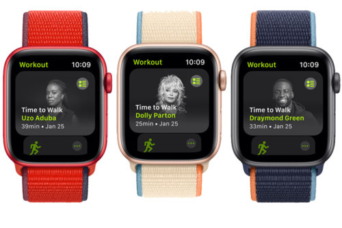 Apple launches 'Time to Walk' for Fitness+ with Dolly Parton, Draymond Green, others