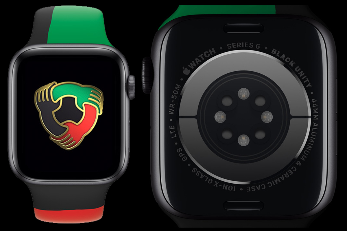 Apple launches limited-edition Apple Watch Series 6 to honor Black History Month