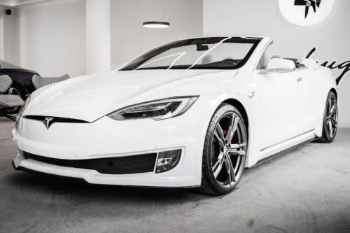 Tesla Model S gets the chop