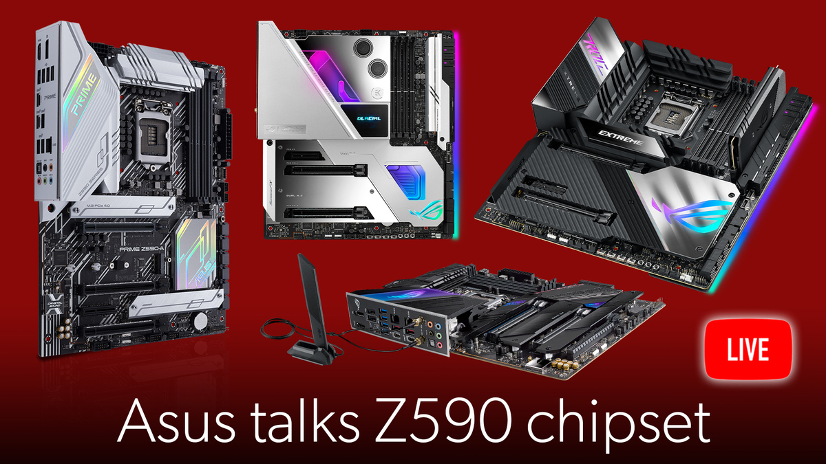 Asus talks about the new Rocket Lake chipset: Z590