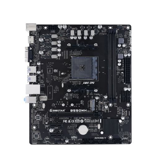 Biostar B550MH Ver 6.0 Motherboard Review