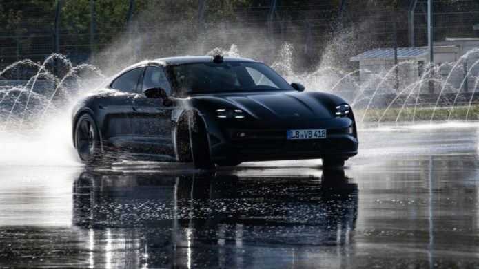 Your new Porsche Taycan just got easier to track