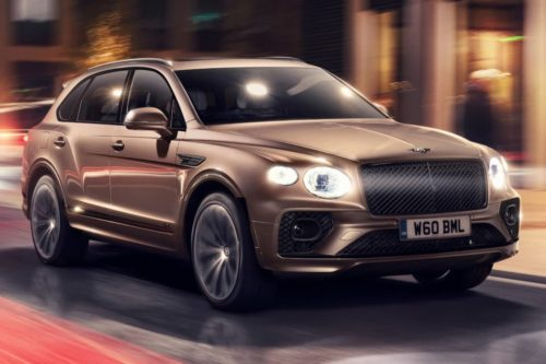 Bentley Bentayga Hybrid freshens up