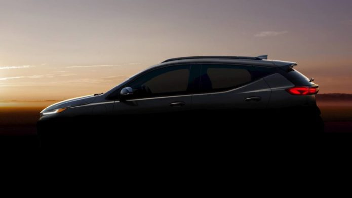 Chevrolet Bolt EUV teases Super Cruise ahead of big February reveal