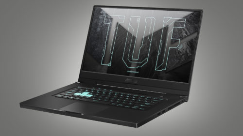 2021 Asus TUF Dash F15 FX516 – compact 15-inch notebook with Tiger Lake H 35W and RTX 3060/3070
