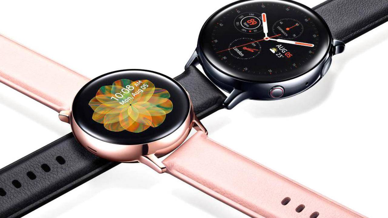 Galaxy Watch Active 2 update serves up SmartThings Find, new health features