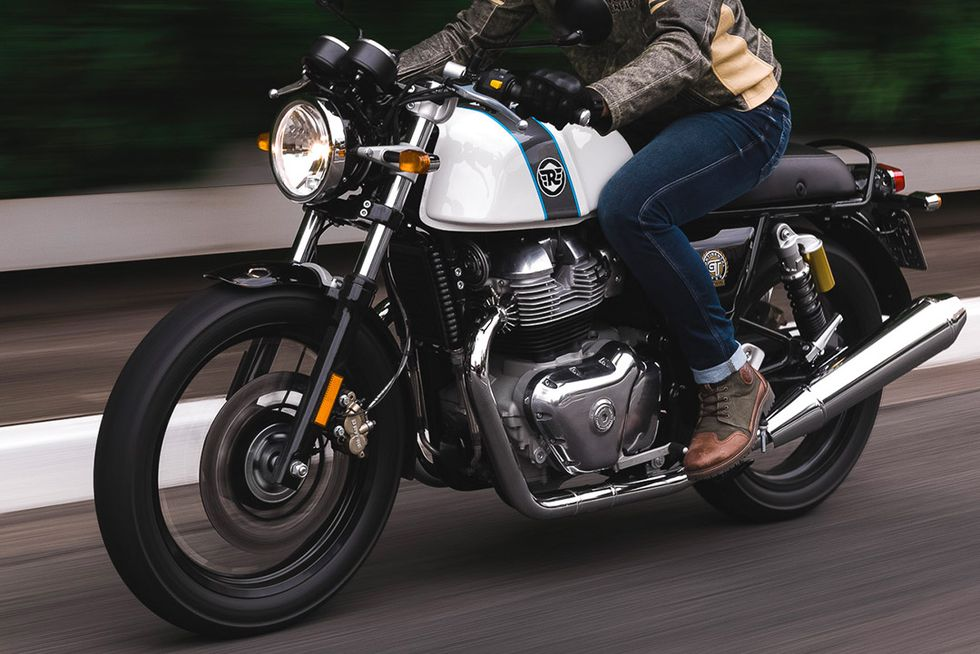 Royal Enfield's New Continental GT 650 Is a Bloody Good Time