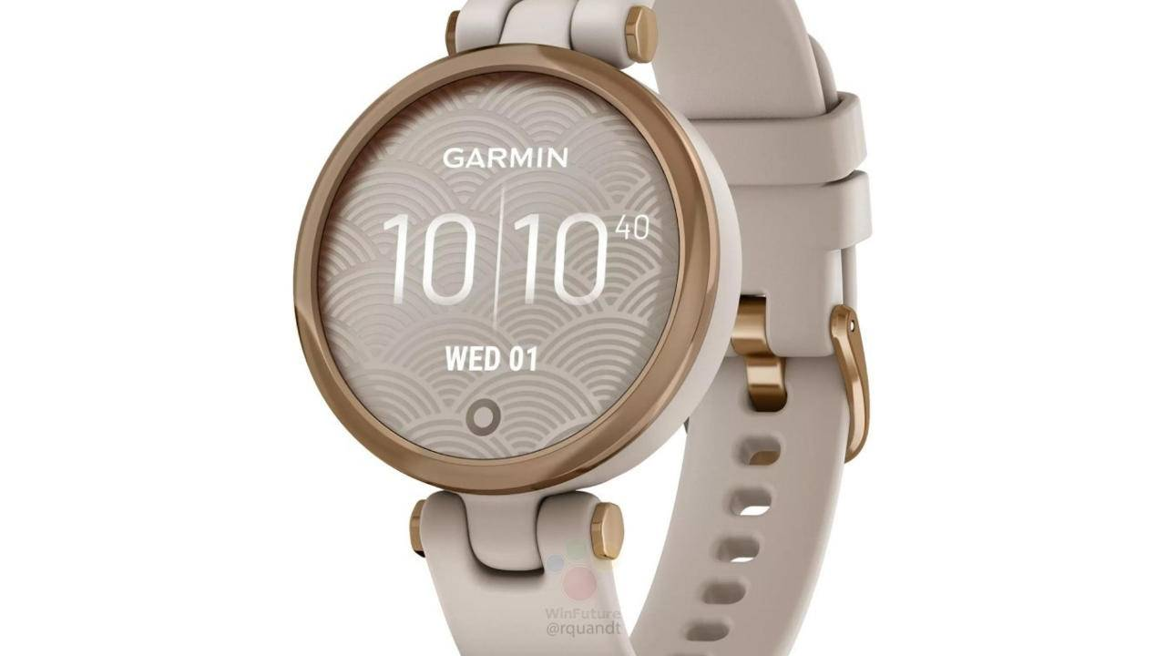 Garmin Lily smartwatch leak suggests a female target market